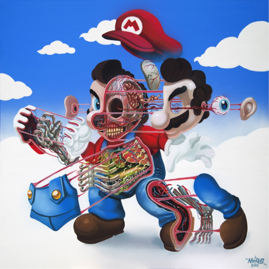 nychos dissection of super mario - Super Mario Pictures To Print